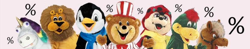 Sale Costumes, Mascots & Promtion Figures buy now