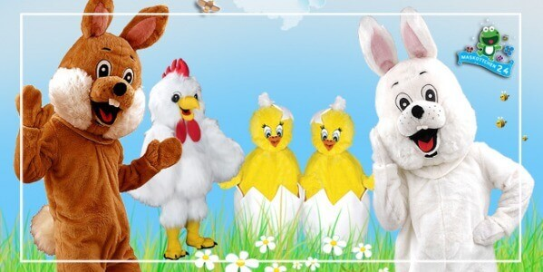 Easter bunny costumes cheap for promotion, carnival, carnival ...