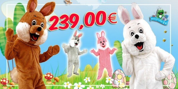 Easter Bunny 74p buy cheap for Promotion, Clubs & Carnivals